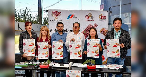 ¡Acude a la primera Expo Gastronómica de Cuautlancingo!