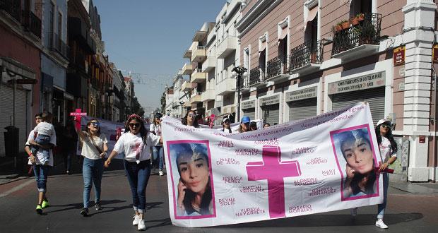 Familiares de Judith Abigail marchan para exigir justicia a 4 meses del caso