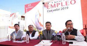 San Andrés Cholula anuncia tercera feria del empleo con valor