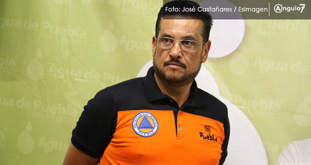 Se quedará Gustavo Ariza como secretario de Protección Civil, señala Rivera