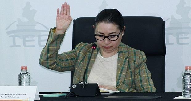 Pide IEE a Antorcha y Podamos por Puebla ponerse de acuerdo sobre registro