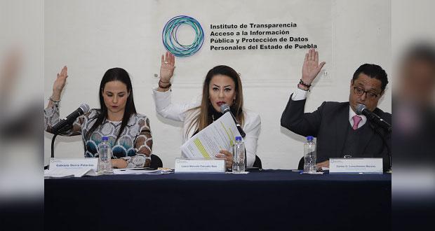 Suman 1,042 solicitudes de transparencia en Puebla; suben 57%