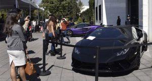 Gobierno suma 28 mdp por subasta de Lamborghini y 6 autos de lujo más