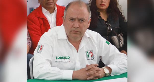 Sin fecha para expulsar a Soto del PRI, pese a evidencias de tradición: Rivera