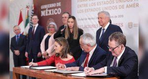México, EU y Canadá firman modificaciones adicionales al T-MEC