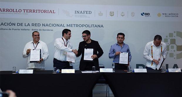 Con Red Nacional Metropolitana, coordinarán acciones desarrollo urbano