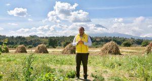 Segob revisa rutas de evacuación del volcán Popocatépetl