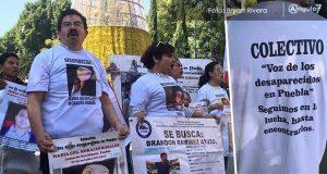 """La """"Voz de los desaparecidos"""", un grito que exige justicia en Puebla"""