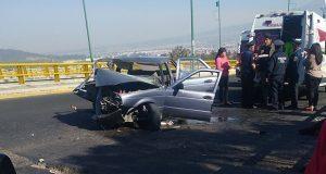Fallece mujer tras choque en Periférico; esposo manejaba ebrio