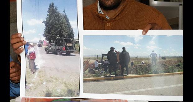 Organizaciones harán reporte sobre amenazas en Juan C. Bonilla