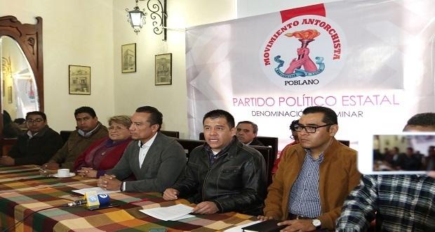 Antorcha rechaza comprar registro para convertirse partido político