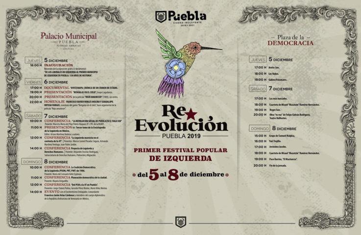 Realizarán festival de izquierda en Puebla con embajador de Venezuela
