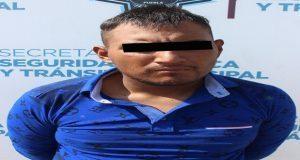 SSC detiene en San Rafael a un hombre y un menor por robo