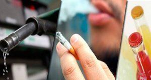 Van aumentos a gasolina, cigarros y bebidas saborizadas en 2020