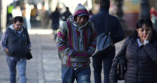 Prevén descenso de temperaturas en varias regiones de Puebla