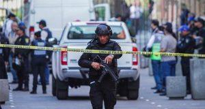 Reporta Sheinbaum 5 muertos tras balacera cerca de Palacio Nacional