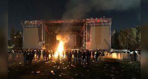 Destrozos y caos deja el Knotfest en la Ciudad de México