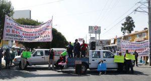 Exigen retiro de ambulantes en La Fayuca; quieren chantajear: UPVA