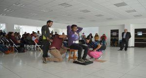 DIF imparte plática a fisioterapeutas de 71 municipios de Puebla