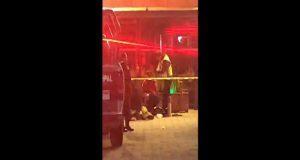 Ejecutan a centroamericano afuera de un bar de Conteiner City