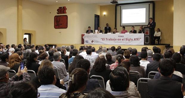 Secretaría de Trabajo busca mejorar condiciones laborales en Puebla