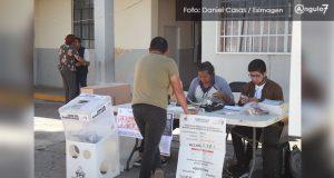 Sin incidentes, cierre de votación en elección de las 3 juntas auxiliares
