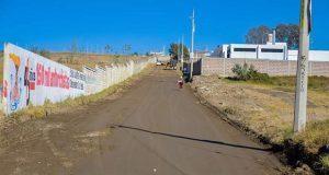 Comienza electrificación y pavimentación en colonia de San Martín