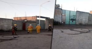 Evacuan 14 casas y suspenden clases por fuga de gas en colonia Jorge Murad