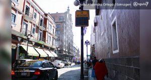 Instalan 28 monitores de velocidad en CH, periférico y bulevares de Puebla