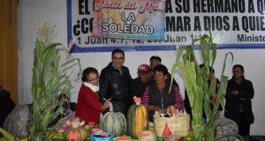 """Ixcaquixtla celebra """"noche del maíz"""" con muestra de comida y bailes"""