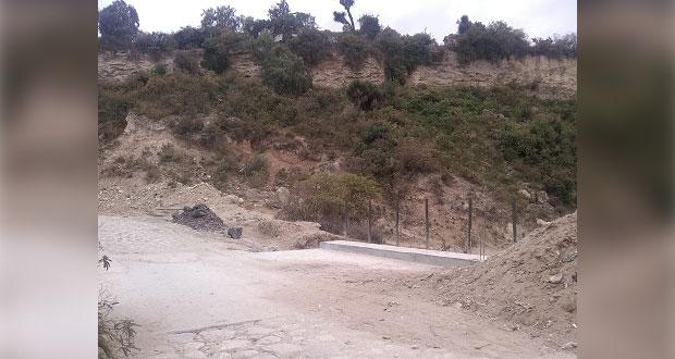 Inicia pavimentación de 2 calles en junta auxiliar de Cañada Morelos