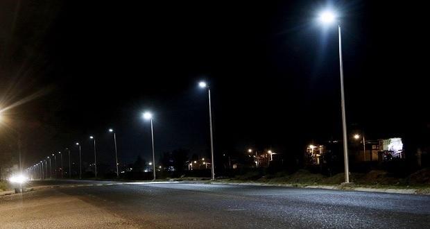 Ayuntamiento coloca 176 nuevos postes de luces LED en Covadonga