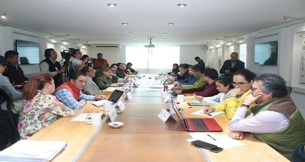 Aprueban en comisión, Ley de Egresos de Puebla por 95 mil 16 mdp