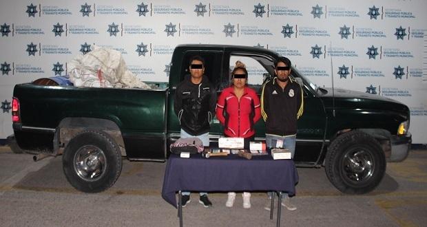Detienen a dos por robo a Coopel en bulevar Municipio Libre