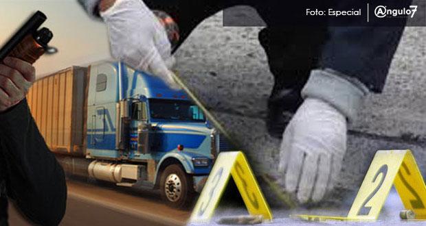 Puebla, de los estados con más homicidios, robos a vehículos y transportistas