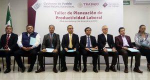 Secretaría de Trabajo realiza taller para elevar productividad