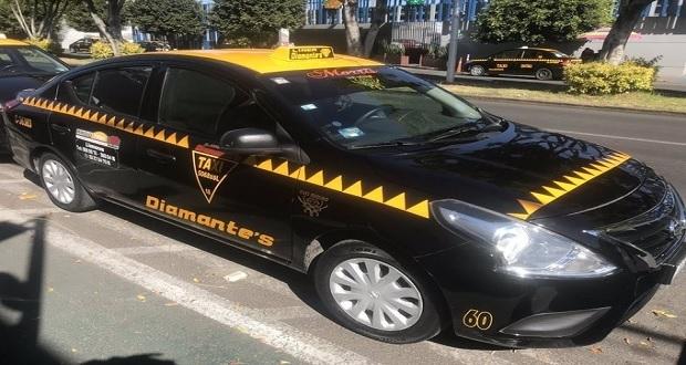 En Puebla capital inicia servicio de taxis Pac-man; primeros 8 km por $50