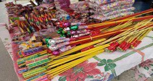 Prevalece venta de pirotecnia en calles del CH pese a operativos de Segom