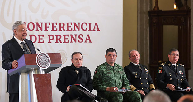 Se vigila más entre Puebla y Veracruz por robo a trasportistas: AMLO