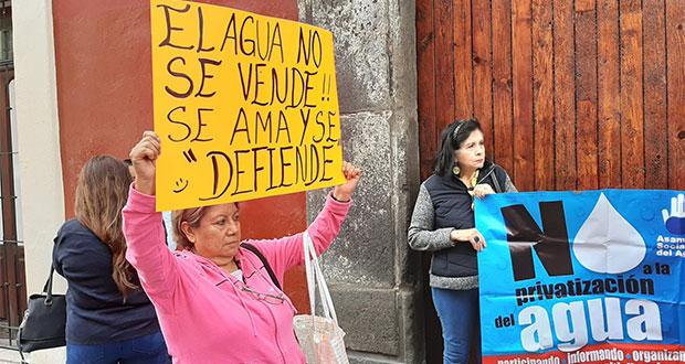ASA pide a CDH pronunciarse por cortes al servicio por parte de Agua de Puebla