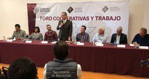 Secretaría del Trabajo impulsará ley para dar garantía a cooperativas