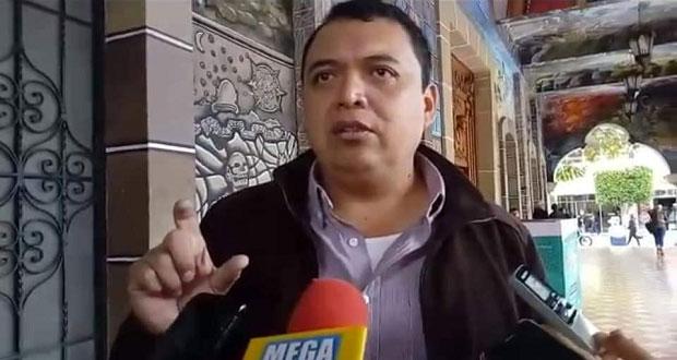 Caballero solicita a Cabildo asumir alcaldía de Tehuacán