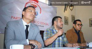 Podemos Puebla desiste; Antorcha sigue proceso para ser partido, aseguran