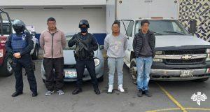 Aprehenden en mercado Unión a tres por robar camión con cigarros