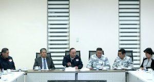 Autoridades e IP realizan reunión de seguridad