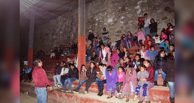 Avanza obra en preescolar de comunidad de Huitzilan de Serdán