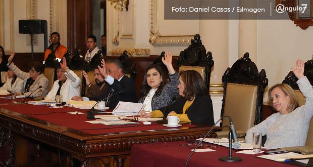 Cabildo de Puebla avala dar inmueble a CFE como garantía de pago de 17 mdp