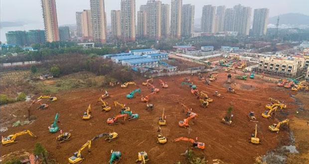 China construirá hospital por coronavirus; estará listo en 10 días