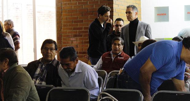 Morena en Puebla, sin actualizar padrón a 19 días de la fecha límite