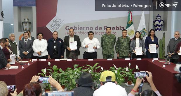 En ZM, se comente el 50% de delitos; gobierno y Comunas firman convenio